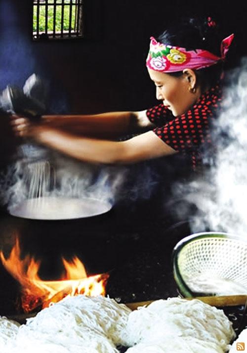 Làng nghề bún Phong Lộc Nam Định