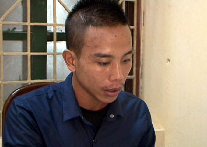 Một trong bốn đối tượng sát hại Nguyễn Quốc Hưng vào tối ngày 19/8.