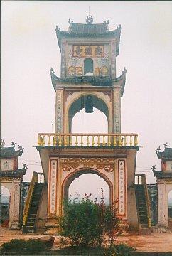 Gác chuông chùa Đan Phượng