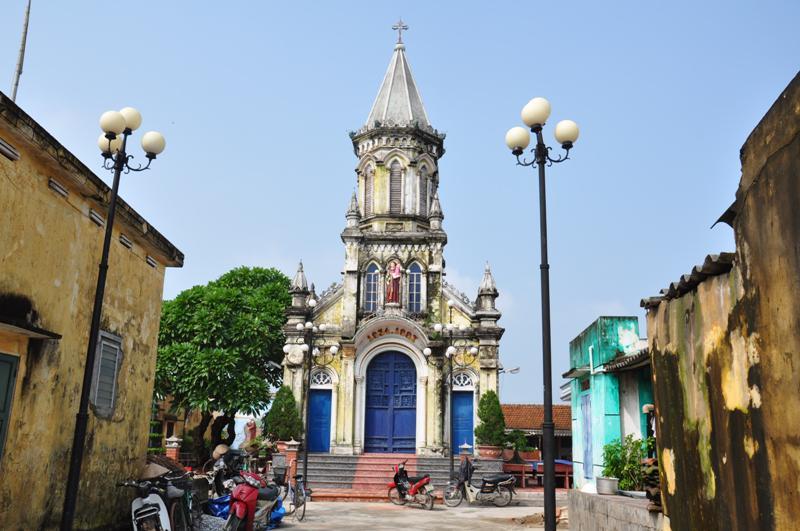 Hình ảnh nhà thờ Giáo họ Ngọc Tỉnh