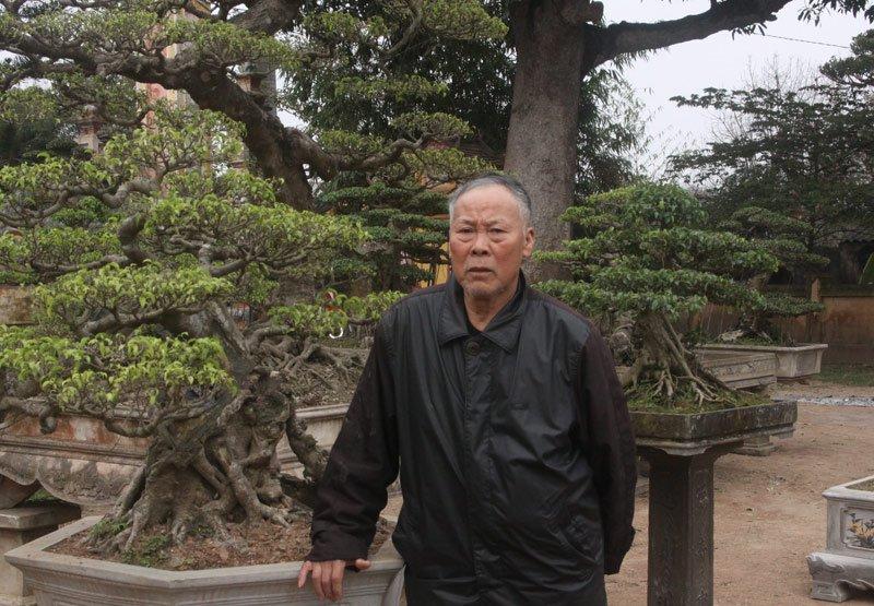 Ông Vũ Duy Hưng, Chủ tịch Hội SVC làng Vỵ Khê