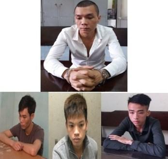 """Linh """"trọc"""" (ảnh trên) cùng đàn em gây ra vụ án mạng kinh hoàng hôm 6/4 tại Nam Định."""