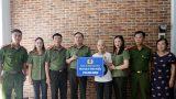 Công an tỉnh Nam Định trao 150 triệu đồng cho nữ cán bộ bị bệnh ung thư