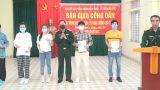 Tỉnh Nam Định trao giấy chứng nhận hết thời hạn cách ly Covid-19 cho 144 công dân