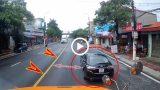 Nam Định : Tài xế container bực tức xuống 'xử' ô tô 4 chỗ đi chậm vì tưởng bị bẫy