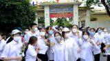 Nam Định: Thí sinh tự tin đến trường thi