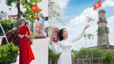 """Gần 400 tác phẩm thi ảnh online """"Áo dài Việt – Duyên dáng phụ nữ Nam Định"""" 2021"""