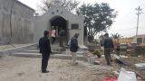 Nam Định: Cầu Ngói bị biến dạng sau khi cộng đồng tham gia trùng tu