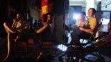 Thành phố Nam Định chìm trong bóng tối sau bão