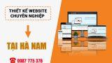 Thiết kế website tại Phủ Lý Hà Nam – Đẹp giá rẻ