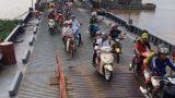 Nam Định: Bão số 3 tan, lắp cầu phao Ninh Cường