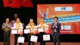 Học sinh trường THPT Lê Hồng Phong Nam Định giành suất sang Mỹ thi chung kết MOSWC 2017