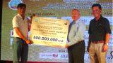 Giải Golf mở rộng lần II năm 2017: Gây quỹ được 500 triệu đồng ủng hộ người khuyết tật tỉnh Nam Định