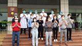 Thêm 11 bệnh nhân COVID-19 tại BV Bệnh Nhiệt đới TW khỏi bệnh