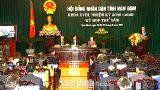 Khai mạc trọng thể kỳ họp thứ năm, HĐND tỉnh khóa XVIII