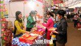 Khai mạc Hội chợ công nghiệp – thương mại khu vực đồng bằng sông Hồng – Nam Định năm 2016