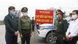 Nam Định: Xử lý, nhắc nhở 54 trường hợp không đeo khẩu trang phòng chống dịch Covid-19