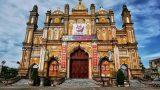 Vẻ đẹp của nhà thờ Trung Lao trước khi bị cháy rụi