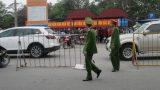 Hơn 1.000 cảnh sát tham gia bảo vệ lễ Khai ấn Đền Trần