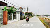 Cử tri nhất trí cao đề nghị thành lập thị trấn Ninh Cường, Trực Ninh, Nam Định