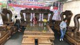 Điều gì khiến nghệ nhân đất Nam Định tự tin hét giá 3,2 tỷ đồng cho bộ bàn ghế gỗ mun đuôi công?