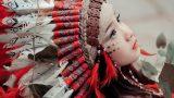 Nam Định: Chùm ảnh nữ thổ dân phiên bản nhí tạo sức hút lớn