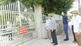 Nam Định: Chủ tịch UBND huyện Giao Thủy kiểm tra công tác quản lý các trường hợp cách ly tại nhà