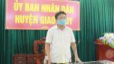 Nam Định : UBND huyện Giao Thủy triển khai các biện pháp phòng, chống dịch Covid -19.