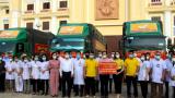 Đoàn cán bộ Y tế Hà Nam, Nam Định tiếp tục hỗ trợ TP.HCM và Đồng Nai chống dịch Covid-19