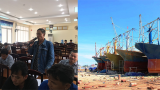 Tàu vỏ thép hỏng: Ngư dân nghi ngờ cam kết của Đại Nguyên Dương Nam Định
