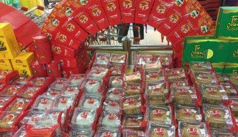 Bánh Trung thu truyền thống hút khách