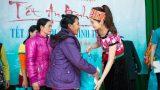 Hoa hậu Kỳ Duyên mặc trang phục dân tộc Thái nhảy sạp