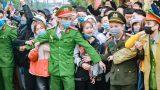 Huyện Giao Thủy tổ chức Lễ giao nhận quân năm 2021