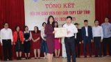Nữ nhà giáo Nam Định được giới thiệu ứng cử Đại biểu Quốc hội khóa 15