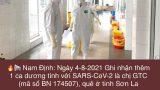 Nam Định : Ghi nhận thêm 1 ca dương tính với SARS-CoV-2