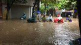 Toàn cảnh TP Nam Định ngập trong nước