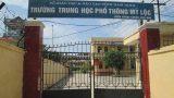 Nam Định : Hiệu trưởng nói về vụ nam sinh quay lén, tống tiền giáo viên