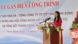 TCTY CP Dệt May Nam Định: Thu nhập của người lao động được nâng cao nhờ có nhà máy mới