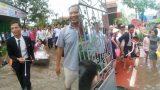 Nam Định: Tâm sự của cô dâu được kéo xuồng trong ngày cưới