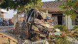 """Nam Định: Mất lái, xe tải """"phi"""" thẳng vào nhà dân"""