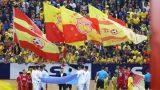 Cổ động viên SLNA đồng loạt ủng hộ Nam Định trụ hạng