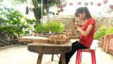 Nam Định : Cô gái bị cưa một chân vươn lên từ nghịch cảnh
