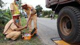 Nam Định : Công an huyện thực hiện chuyên đề kiểm tra, xử lý phương tiện vận tải hàng hóa vi phạm quy định.