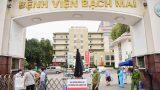 Bệnh viện Bạch Mai cách ly 19 nhân viên y tế vì liên quan ca mắc COVID-19