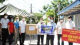 Nam Định : Hỗ trợ các hộ dân khu vực bị phong tỏa xóm 19 xã Giao An.