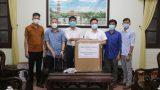 Nam Định: Huyện Hải Hậu tiếp nhận ủɴɢ hộ 50 máy thở của một cá nhân trên địa bàn Thị trấn Cồn