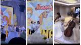 Cô dâu 200 cây vàng ở Nam Định tổ chức sinh nhật hoành tráng cho con gái nhưng nhan sắc đỉnh cao của bà ngoại mới đáng chú ý hơn cả