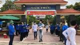 Hình ảnh ngày đầu tiên Kỳ thi tốt nghiệp THPT của học sinh Tại Địa Điểm Nam Trực – Nam Định
