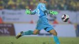 Thủ môn Nam Định gieo sầu Hà Nội: Lần đầu bắt V.League, phải thử việc đầu mùa
