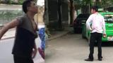 Chủ xe Mercedes đỗ xe ngang ngược còn đánh tài xế người Nam Định
